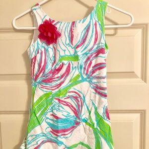 Lilly Pulitzer little Delia Shift dress, size 7